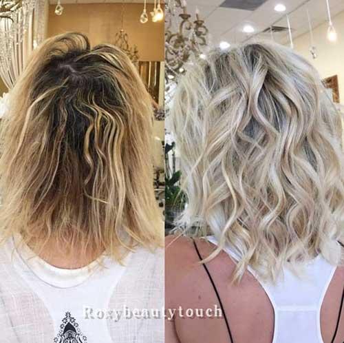 Short Layered Haircuts For Thick Wavy Hair
