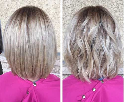 Medium Short Haircuts
