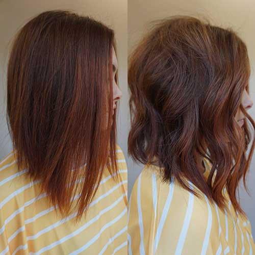 Short Layered Haircuts For Wavy Hair