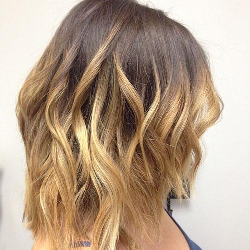Ombre Short Hair Color Ideas