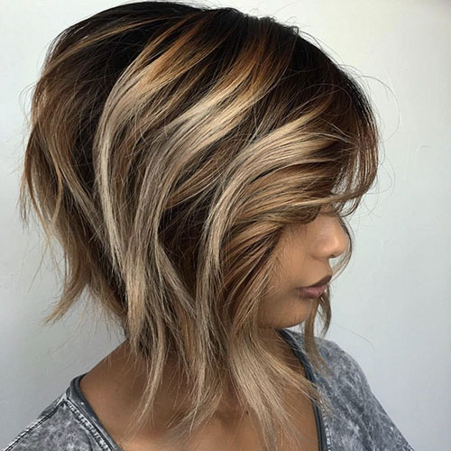Ombre Short Hair