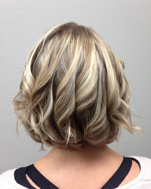 Medium Short Hair Cut