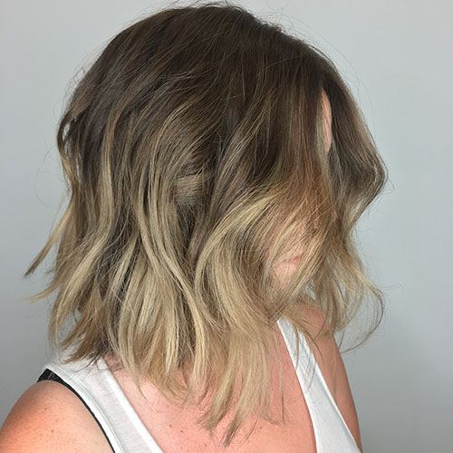 Ombre Short Hair Color Ideas