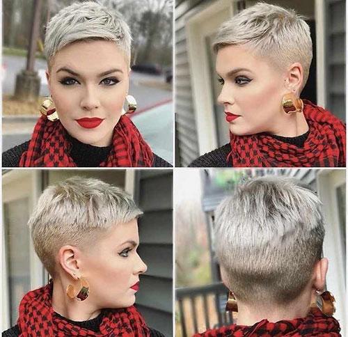 Platinum Short Hairstyles