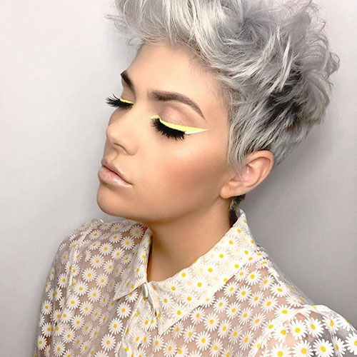 Short Silver Hair Images