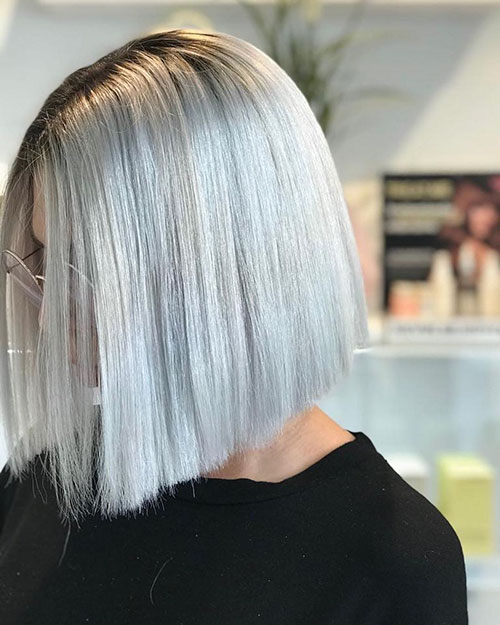 Pictures Of Short Silver Hairstyles