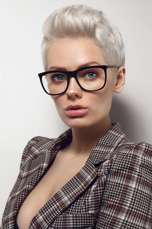 Platinum Hairstyles Short Hair