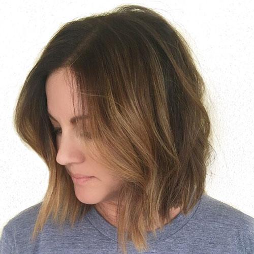 Lob Haircut Pics