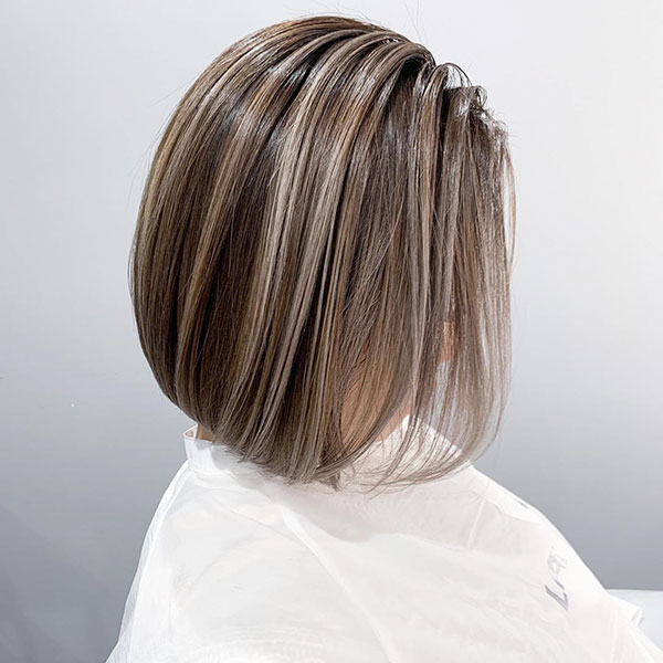 Short And Thin Hair Style