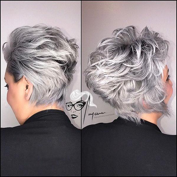Short Hair Cuts Older Women