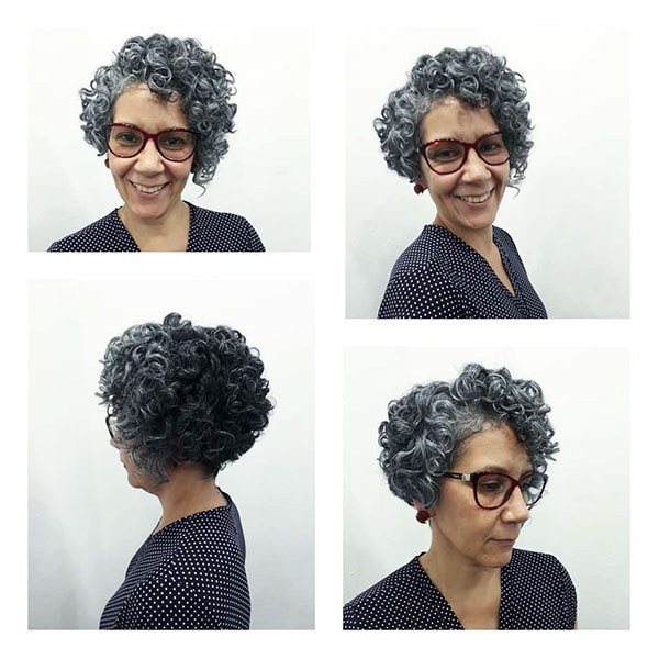 Super Short Haircuts For Older Women