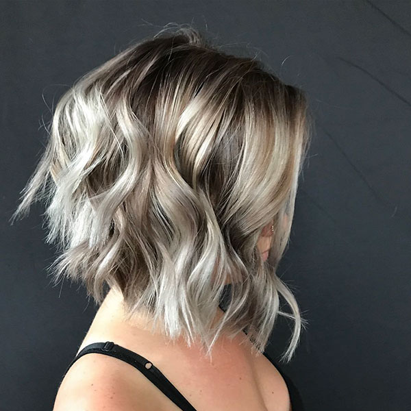 Short Curly Blonde Hair