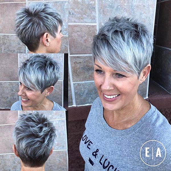 Best Short Hair Styles For Older Women