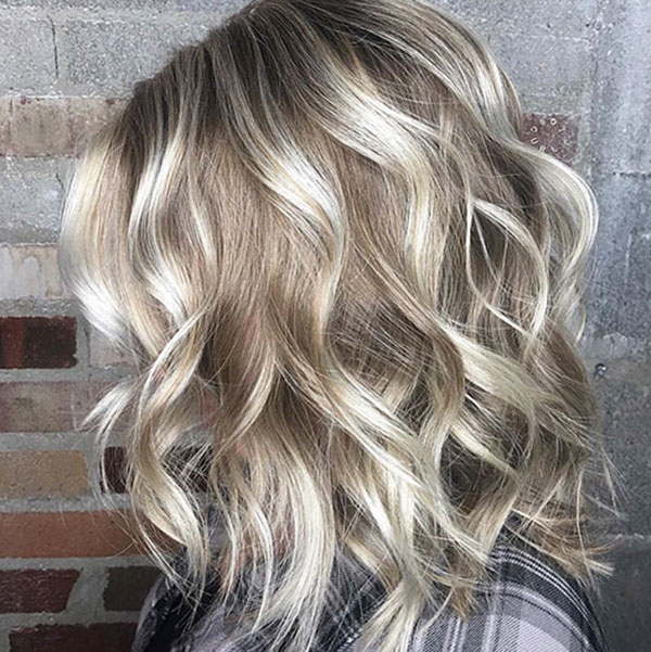 Natural Short Curly Blonde Hair