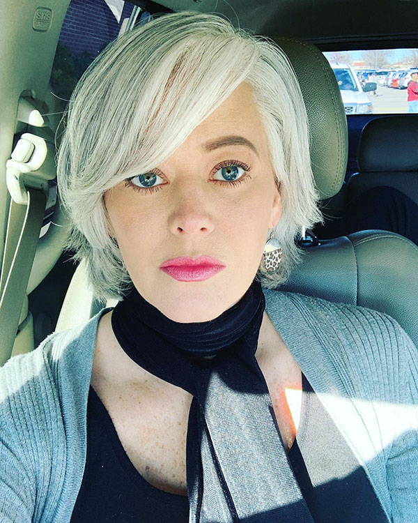 Images Of Short Haircuts For Thin Hair