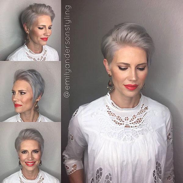 Short Hairdos For Older Women