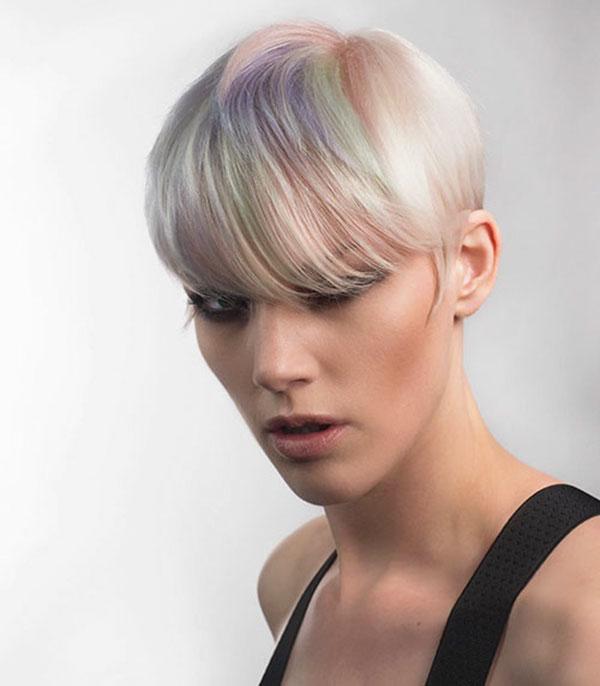 Images Of Short Haircuts With Bang