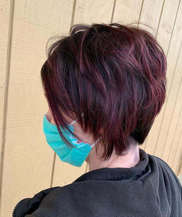 Short Razor Haircut Images