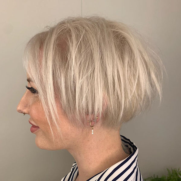 Super Short Haircuts For Ladies