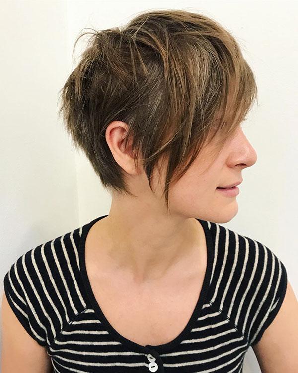 Short Razor Haircut Gallery