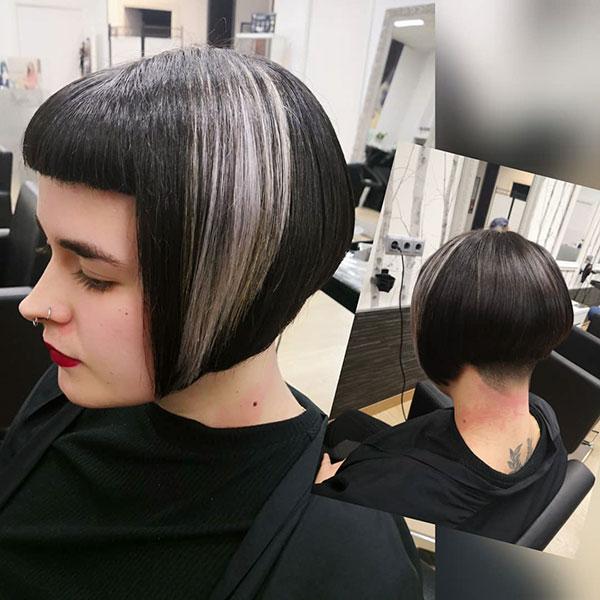 Hair Color Designs For Short Hair