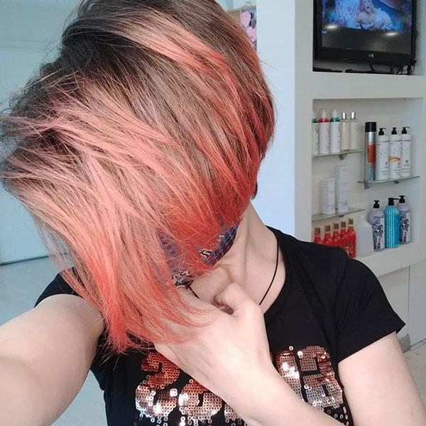 Rose Hair On Short Hair