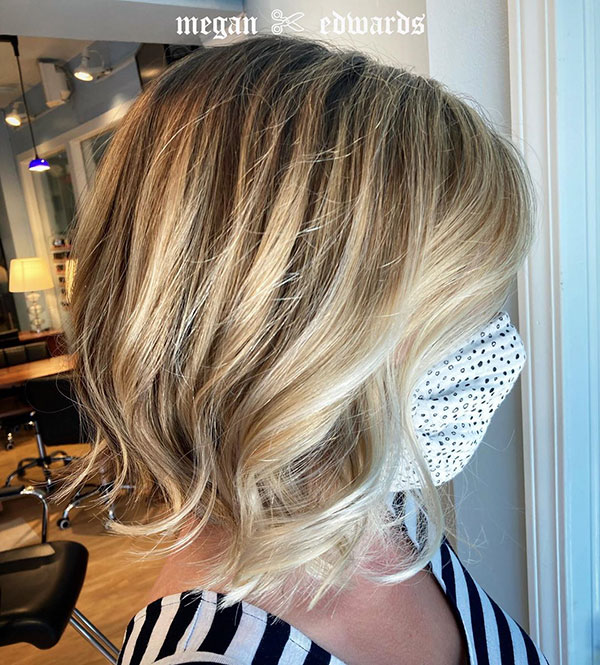 Blonde Short Cuts