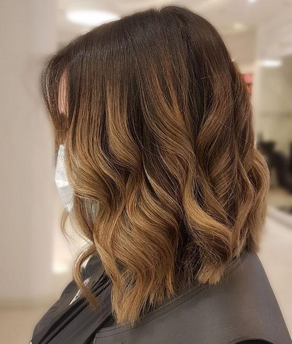 Light Brown Hair Color For Short Hair