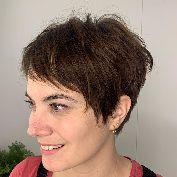 New Short Haircuts For Ladies