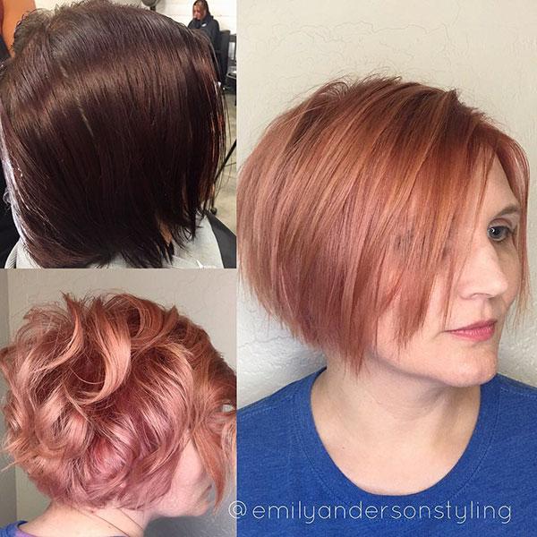Rose Short Hairstyles