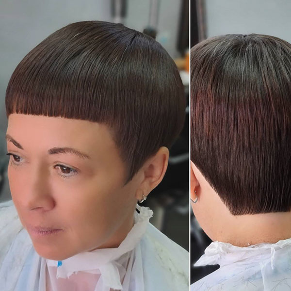 Short Hair Designs For Ladies