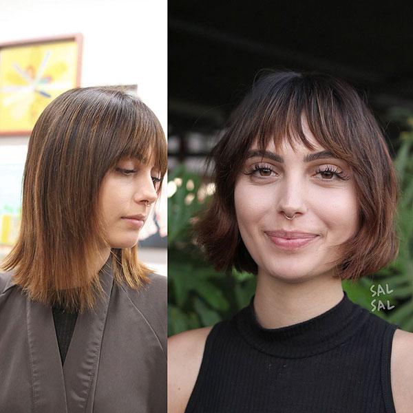 Short Light Brown Hair Ideas