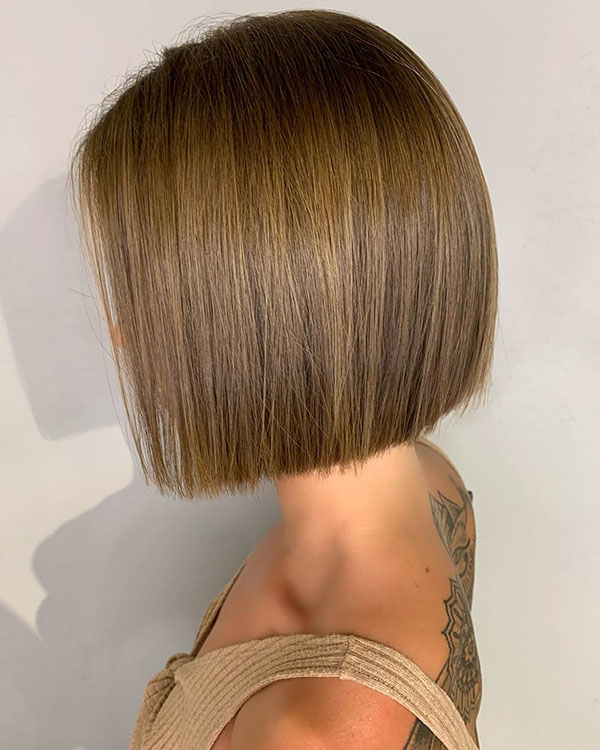 Short Hairstyles For Light Brown Hair