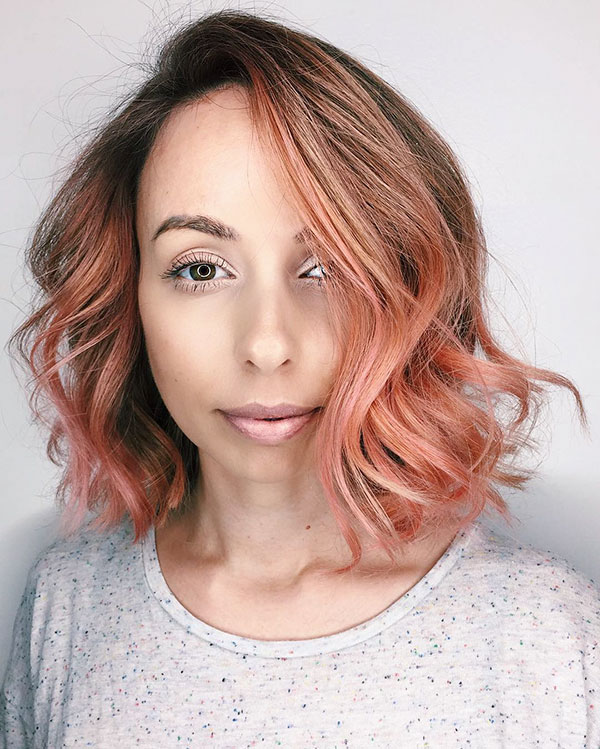 Rose And Short Hairstyles